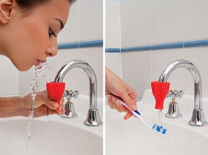 Tapi making sink into a drinking fountain easy to installs