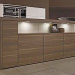Tennessee walnut pale woods natural in tabletop and showcase cabinets with warm magnolia finish