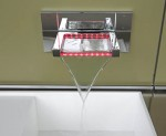 The winner IMM Cologne 2008 kitchen design use waterfall faucet fit
