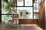 Thermally Treated Oak kitchens Cabinets use in E-Wood by Snaidero