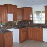 Thermofoil cabinets brown