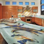 ThinkGlass created personalize kitchen use glass kitchens countertops beautiful patterns