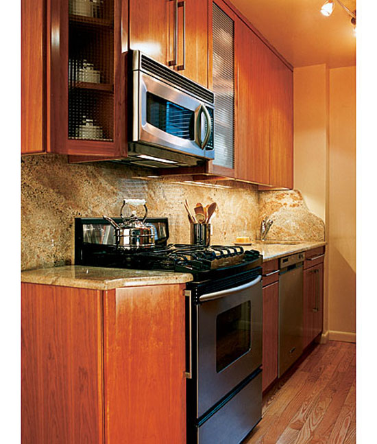 Tips of working with small kitchens design