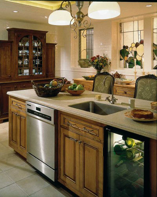 Tuscan kitchens design ideas from Italy traditional kitchen style warm glow
