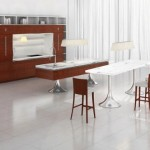 Ultra Modern Kitchens red from Philippe Starck