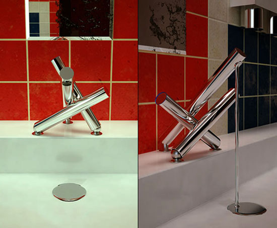 Union jack tap from stainless steesl is high end designs goodieUnion jack tap from stainless steesl is high end designs goodie