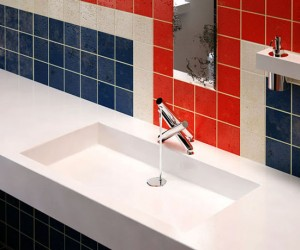 Union jack taps from stainless steel is high end design goodies