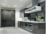 White Black Kitchens Designs picture ideas from Salvarani