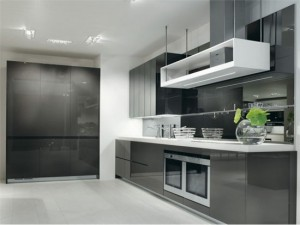 White Black Kitchens Designs picture ideas from Salvarani