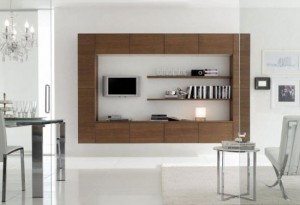 White Cabinet in Moderns Italian Kitchen Design from Stosa