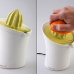 amazing Orange Juicer in yellow and white colors by Jackob Mazor