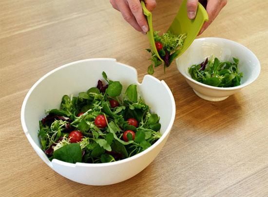 amazing ceramic salad bowls for completing modern kitchen designs