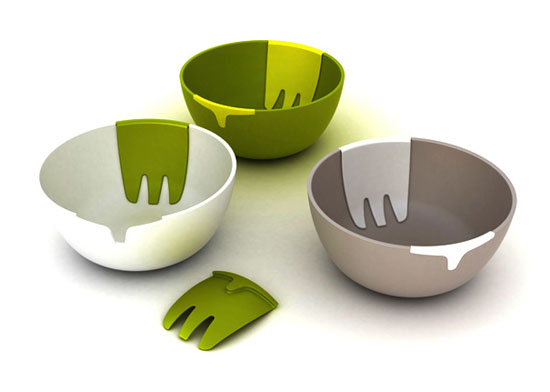 amazing ceramic salad bowls for completing moderns kitchen design