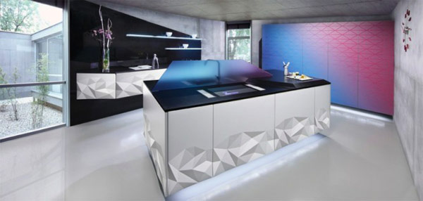 amazing kitchen lighting from Estudiosat