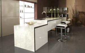 anti bacterial kitchen contains Silver nano-particle for white future kitchen