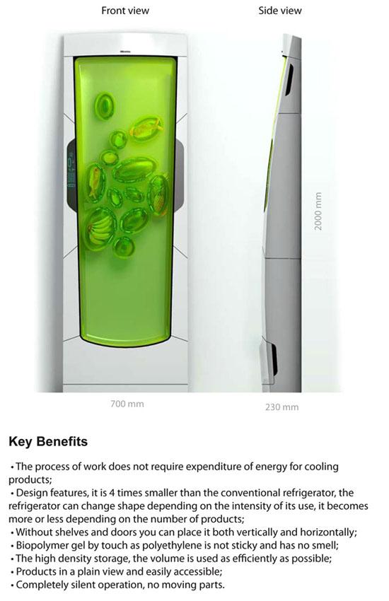apartment sizes refrigerator with Bio Robot Refrigerator by Yuriv Dmitriev