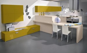Artistic Contemporary Kitchen and dining design ideas