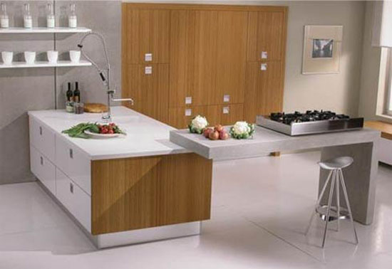 bamboo kitchen cabinetry doors functional concept for modern kitchen
