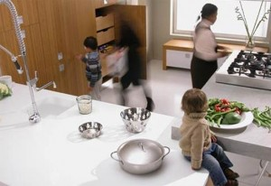bamboo kitchen cabinetry doors functional concept for modern kitchens