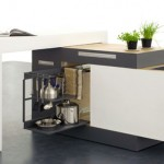 best compact kitchen for smal apartments to create comfortable work area 0207