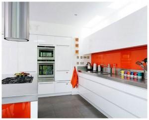best white kitchen designs 2013 all white kitchen with orange accents ideas design white kitchen designs