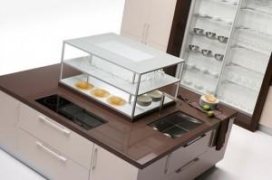 big Kitchen with large Smart Storage Solutions from Quatro Glos