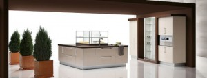 big Kitchen with large Smart Storage Solutions from Quatro Gloss