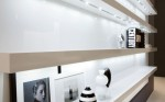 black and white kitchen interiors decoration by Futura Cucine