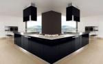 black and white kitchens interior decoration by Futura Cucine