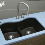 blue sky kitchen sinks design