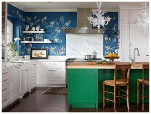 blue white kitchen designs DP O Interior Design white kitchen with blue green accents white kitchen designs