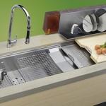 cascade sink stainless steel design