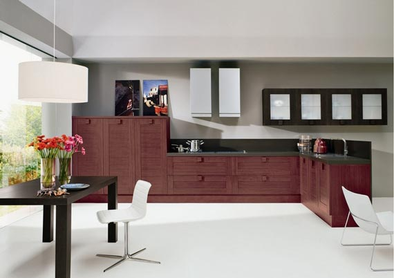 Casual contemporary kitchen and dining design ideas 8 for Casual kitchen dining