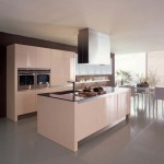 Casual kitchen design in modern dining room theme