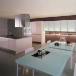 Casual kitchen design in modern theme