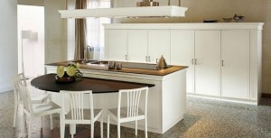 classical Italian renaissance Kitchens create a warm ambience