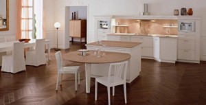 classical Italian renaissance Kitchens create warm and ambience