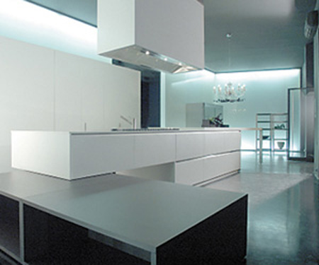 clean floating islands Ultra Modern Kitchens from Boffi of Italy the real modern kitchen