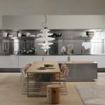 clean lines modern kitchen design