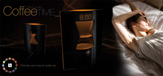 coffee addict alarm Wake up and smell the coffee by Elodie Delassus