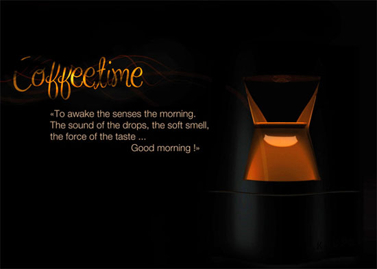 coffee addict alarms Wake up and smell the coffee by Elodie Delassus