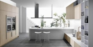 color expressive and natural elegance kitchen CODE by Snaidero