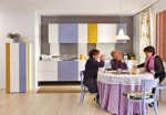 colorful kitchens cabinet ideas in colorful scheme by Lago