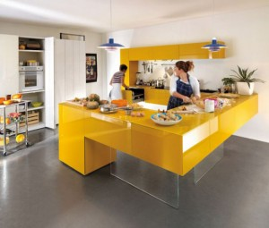 colorful kitchen cabinet ideas in colorful schemes by Lago