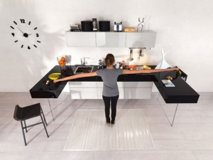 colorful kitchen cabinets ideas in colorful scheme by Lago