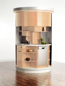 compact concepts for ideal small kitchen design wood brown