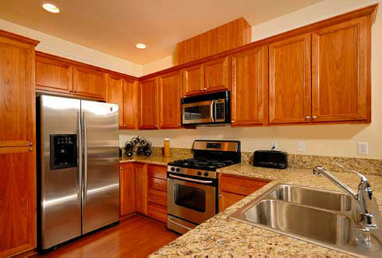 cost of kitchen remodeling by change cabinets color resurfacing and relaminate