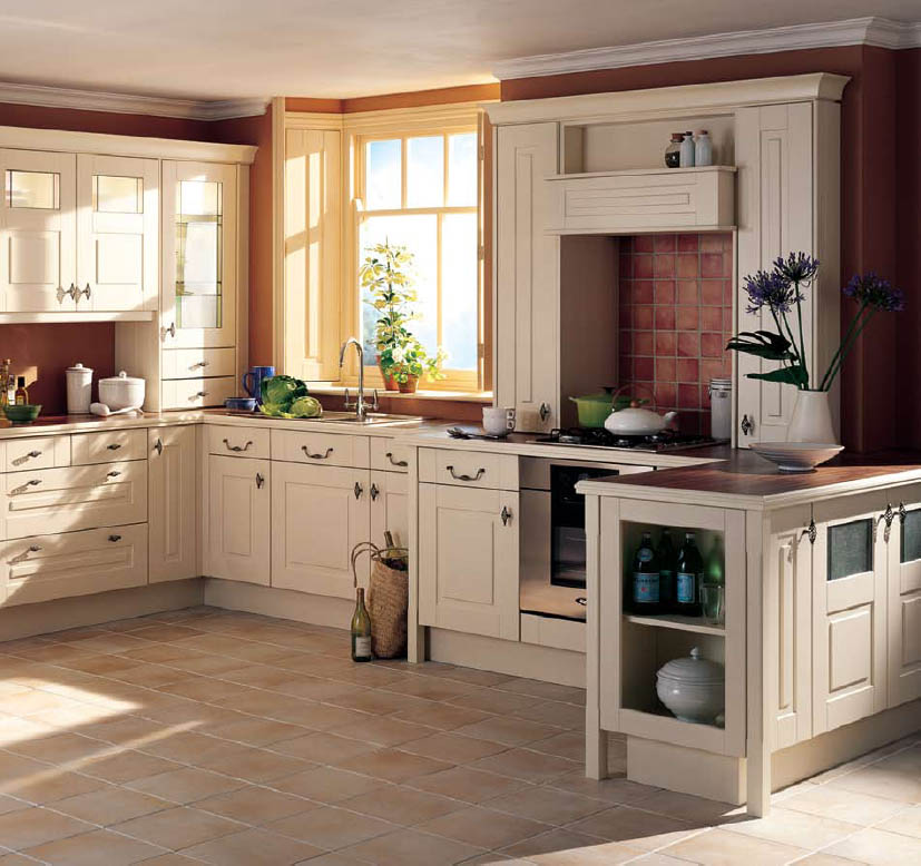 How to create country kitchen design ideas kitchen for Country kitchen designs layouts