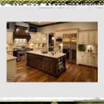 creamy kitchen ideas island