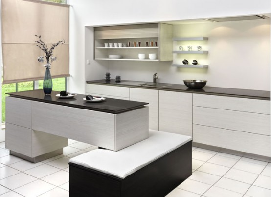 creative kitchens island provide a comfortable cooking and relaxing